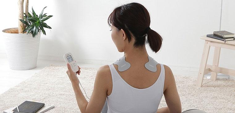 Máy massage xung điện là phương pháp thư giãn, giảm đau hiệu quả tại nhà