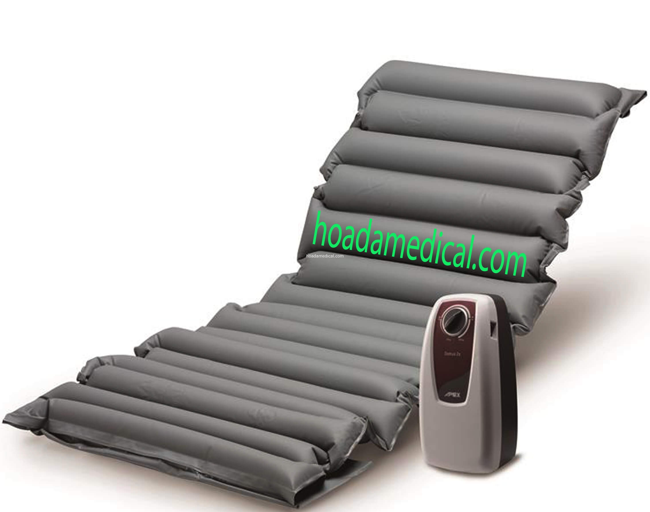 Nệm chống loét với cấu tạo nhiều múi xen kẽ tạo độ thoáng khí, êm ái cho người nằm