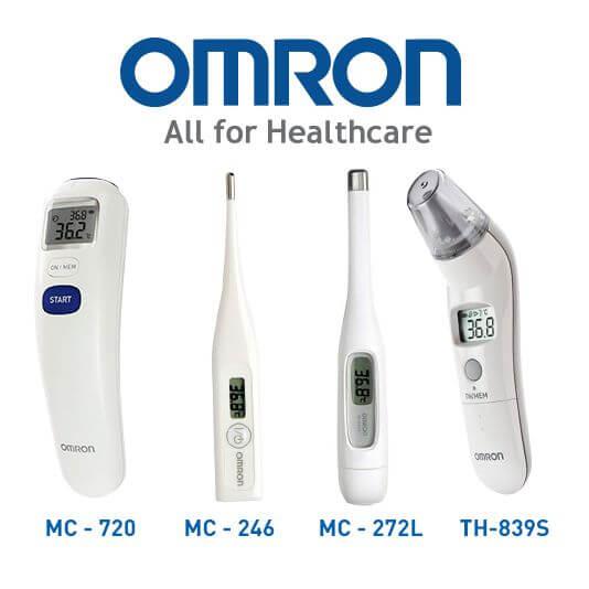 Các dòng nhiệt kế điện tử đến từ thương hiệu Omron