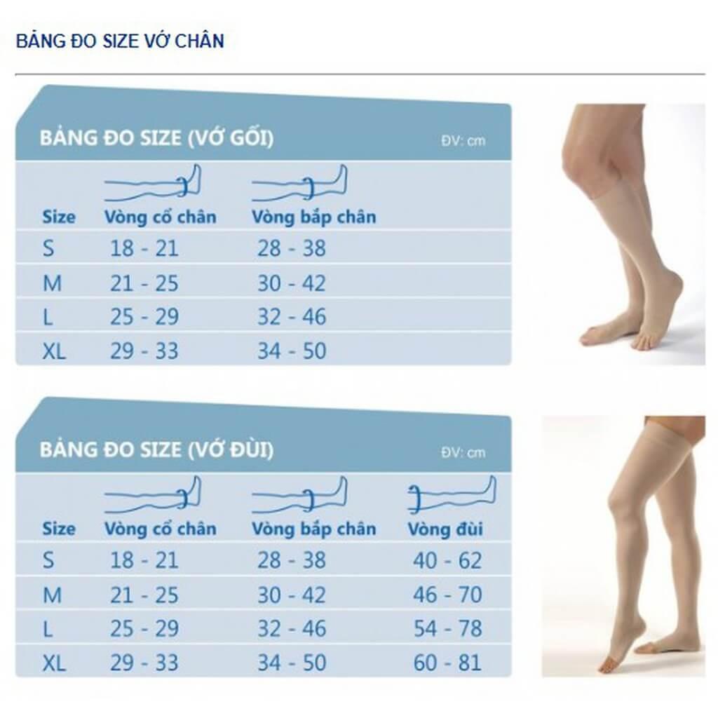Đo kích thước chân để chọn được loại vớ phù hợp nhất